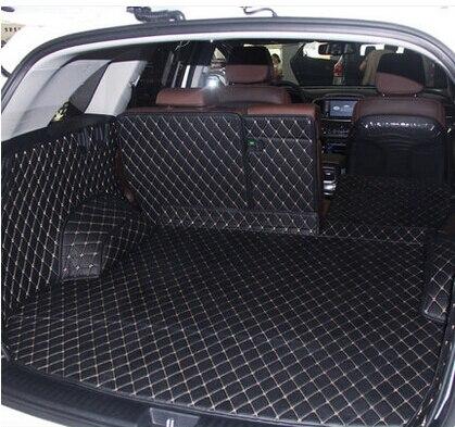 CHOWTOTO специальные Магистральные коврики для KIA Sorento 5 мест прочный водостойкий Кожаный Багаж ковры для Sorento 5 мест