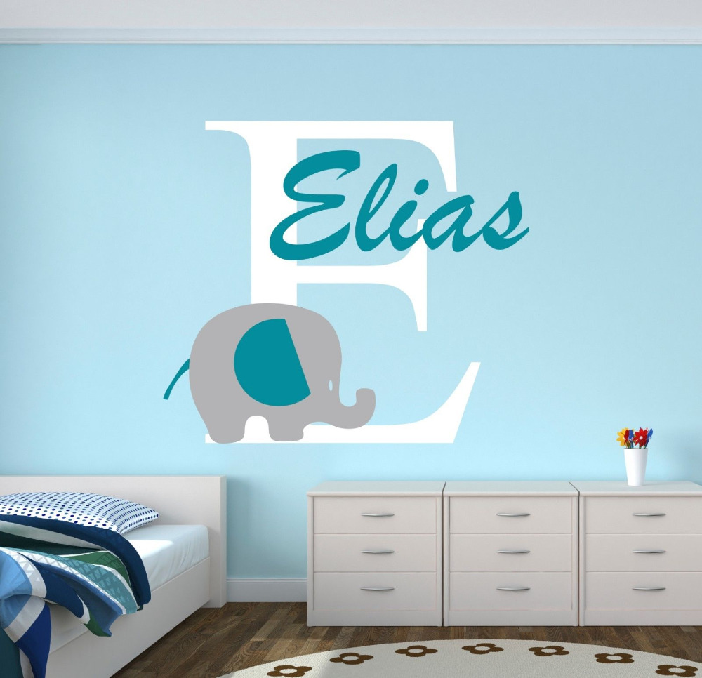 Nursery Wall Decals Elephants Best Elephant - Nursery wall decals elephant