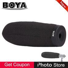 BOYA BY-T240 120mm Espuma Microfone para BY-PVM1000L Vidpro XM-88 CK 98 460 B + Cápsula de SE300 AT8035 Azden SGM-2X (cardióide) VP89