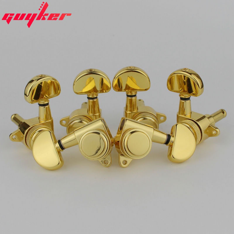 Gold 3R3L Rear Locking Tuners Guitar Tuning Pegs Machine Head