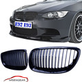 Car Gloss Black Front Grille Kidney Grills For BMW E92 E93 M3 Coupe Convertible 2 Dooor 3Series 328i 335i 2007 - 2010 C/5