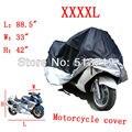 "Envío gratis a estrenar XXXXL 88.5 "" L x 33 "" W x 42 "" H cubierta de la motocicleta moto impermeable resistente a UV cobertura Universal"