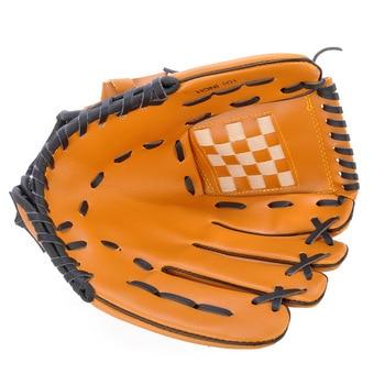 1 Pcs Baseball Glove Professional Brown Left Hand Softball Baseball Glove For Practice Baseball Outdoor Sport Baseball Equipment фото