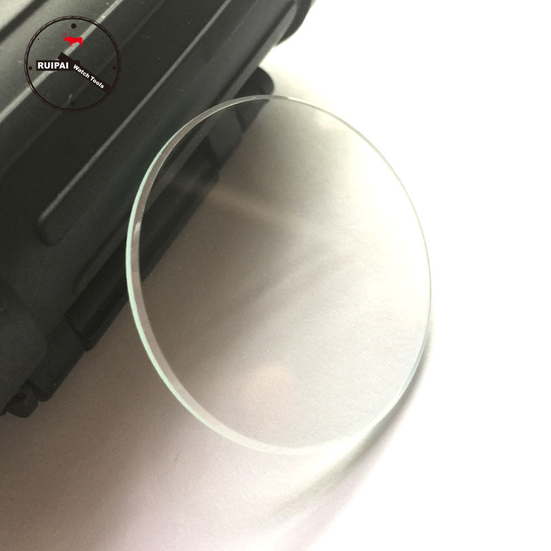 2pcs/lot 36mm 36.5mm Watch Glass Crystal 2mm Thickness Flat Round Watch Glass For Replacement