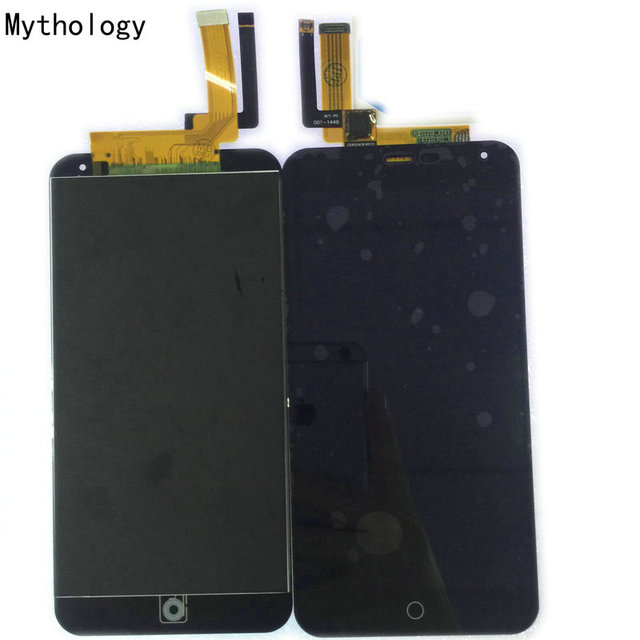 Mythology Touch Panel LCD display For Mei zu M1 Note MTK6752 Octa Core 5.5 Inch Touch Screen Android 4.4 Mobile Phone