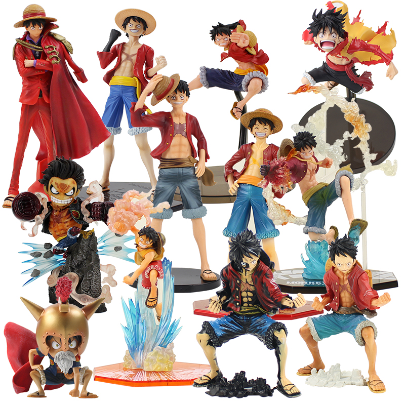 Original Banpresto Magazine Figure Monkey D Luffy Toy Collection Anime One Piece Model To Produce An Effect Toward Clear Vision Toys & Hobbies