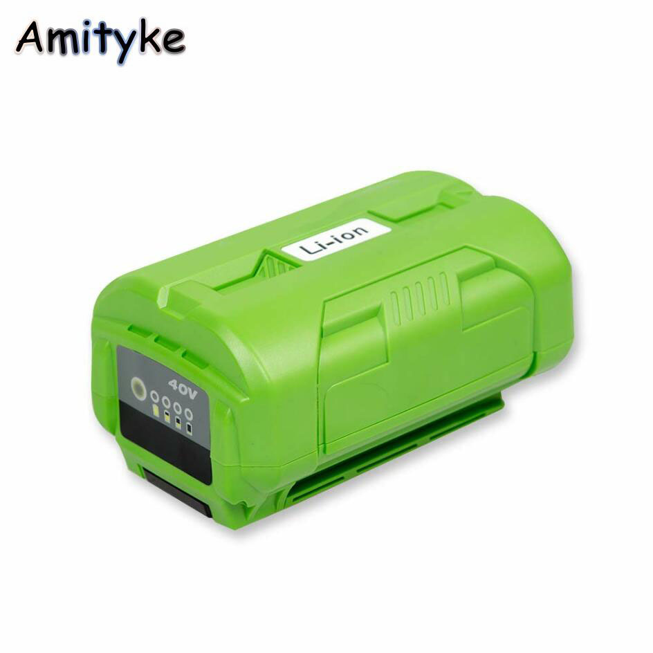 40V Powerful 4000mah Lithium ion Battery 160Wh Compatible for Ryobi 40V Tools Compatible OP4015 OP4026 image