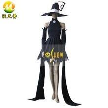 Elegantes vestidos de soul eater blair cosplay dress disfraces vestidos de verano para mujeres niñas fiesta de halloween ropa del festival