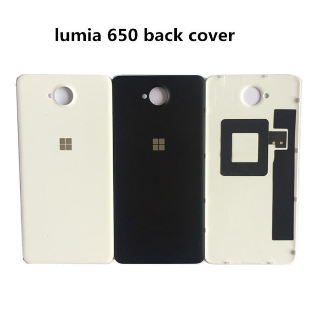 new style 8ba8e 6fbd9 US $4.99 |Original Back Cover Case for Microsoft lumia 650 Rear Battery  Cover Housing Door Replacement for Nokia lumia 650 with NFC chip-in Mobile  ...