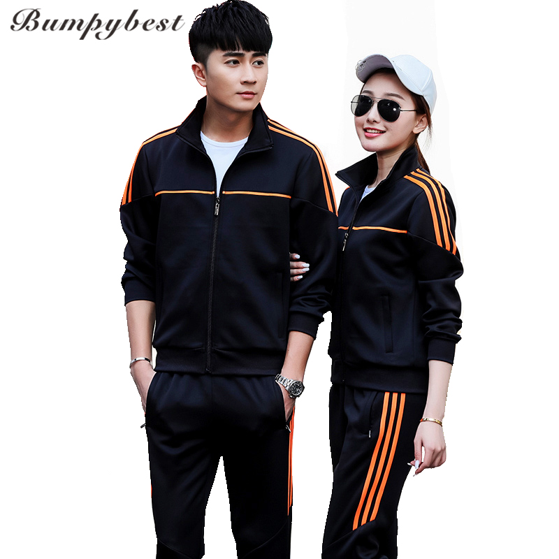 Bumpybeast Men's Sportswear 2018 Tracksuit Brand Men Sportsuits Fashion Side Stripes Sweatpants Hoodies Mens Nice Love Tracksuit