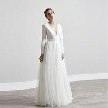 vestido novia con manga RETRO VINTAGE