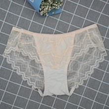 517ad557c0bf Women Lace Panties Sexy Briefs Thongs Satin Lingerie 3 Colors Actual Shot  Underpants YIELODER Lace hollow