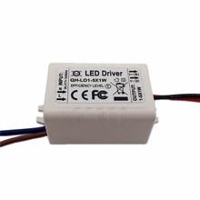 5PCS Constant Current LED Driver 1-5x1W 300mA 3-16V 1W 3W 4W 5W  External Lamp Light SMD COB Power Supply Lighting Transformer стоимость