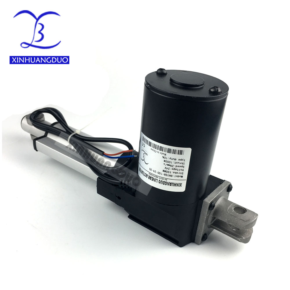 6 inch/150mm stroke Electric linear actuator dc motor DC 24V, 5/10/25mm/s Heavy Duty Pusher 500/300/100Kg high Quality6 inch/150mm stroke Electric linear actuator dc motor DC 24V, 5/10/25mm/s Heavy Duty Pusher 500/300/100Kg high Quality