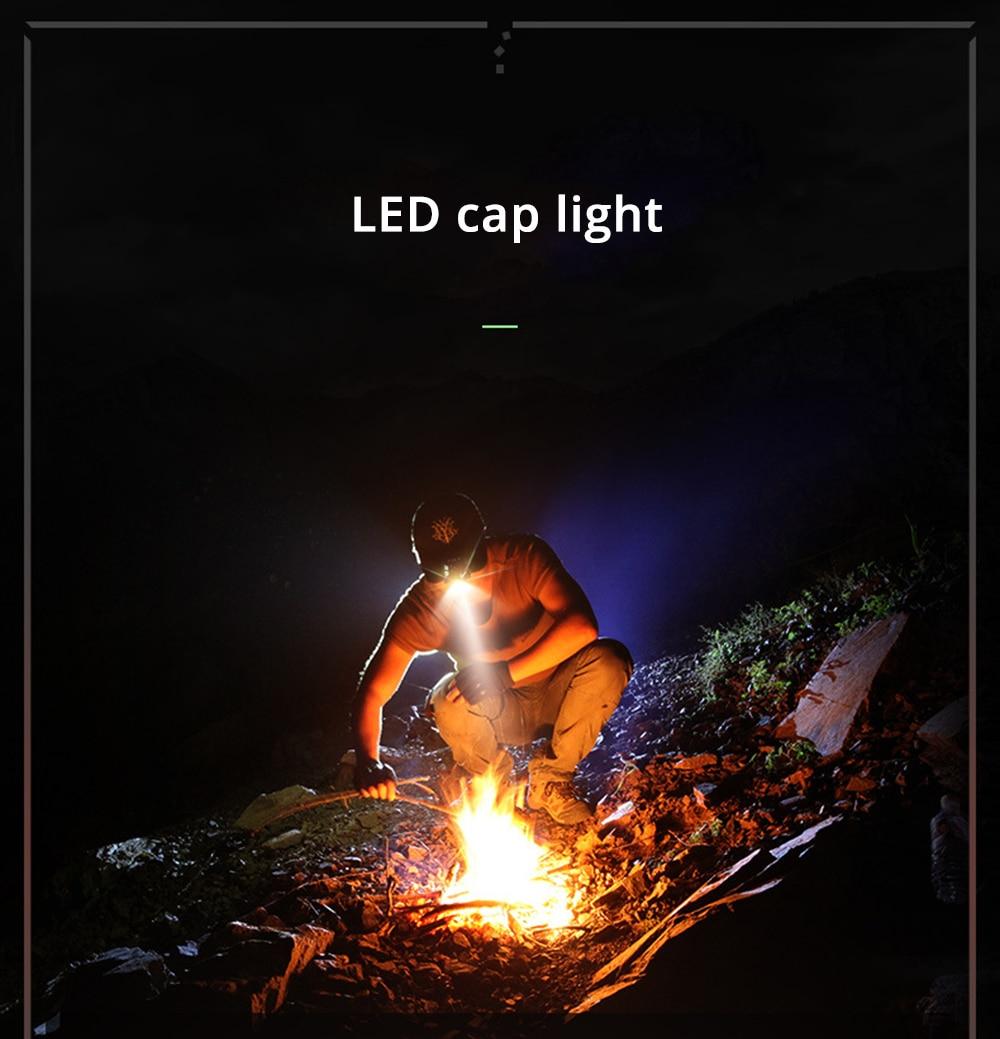 ML LOOK Clip-On Cap LED Light