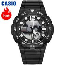 Casio Watch Outdoor Sports Waterproof Electronic Men's Watch AEQ-100W-1A все цены