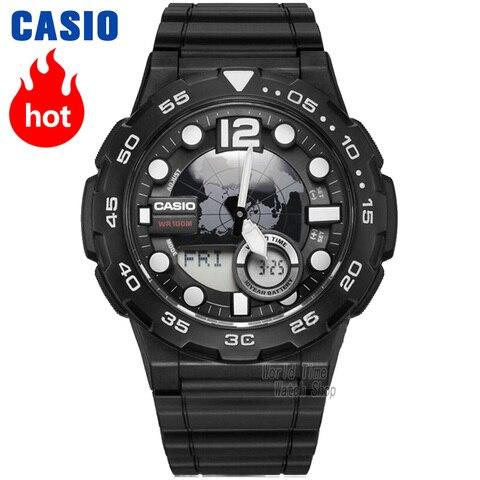 Marca de Luxo Relógio de Quartzo dos Homens m à Prova Casio Relógio Best Selling Explosão Homens Grupo Top Led Militar Digital Esporte 100 d 'água Reloj Hombre Erkek Kol Saati Montre Homme Zegarek