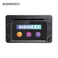 2 din Android 8.1 GPS Navigation Autoradio For Alfa Romeo 159 Brera Spider Sportwagon 2006 Car DVD Player Head Unit Wifi Audio
