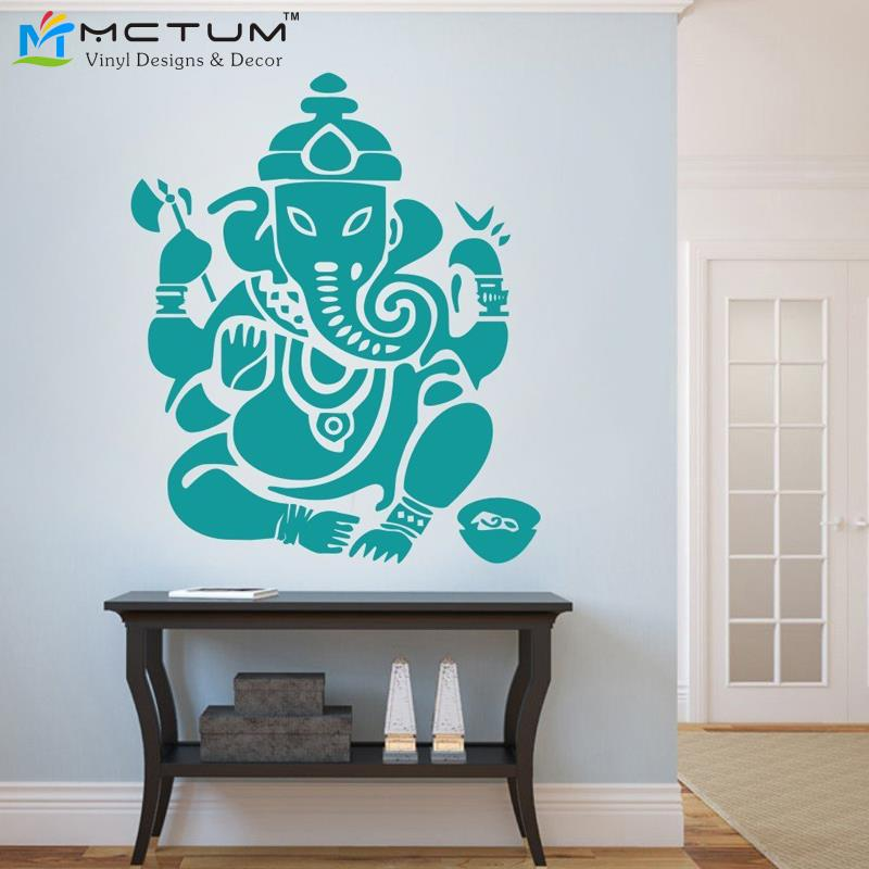 Om Wall Art Sticker Ganesh Om Wall Decal Vinyl Decor By 52wallst