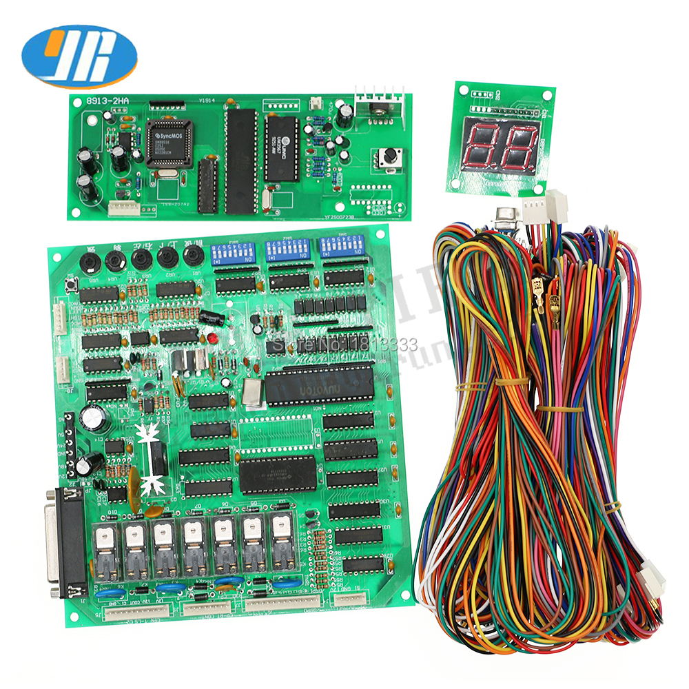 DIY Crane Machine Kit Parts Good Quality Guanxing PCB Board Crane Machine  PCB With Wire Harness/ Arcade Gift/ Doll Machine Board-in Coin Operated  Games from ...