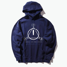 Panic At Disco Weird Live Too Rare Die Hoodies Hunter S. Thompson Fear Hooded Triangle series Men/women Hooded Pullover