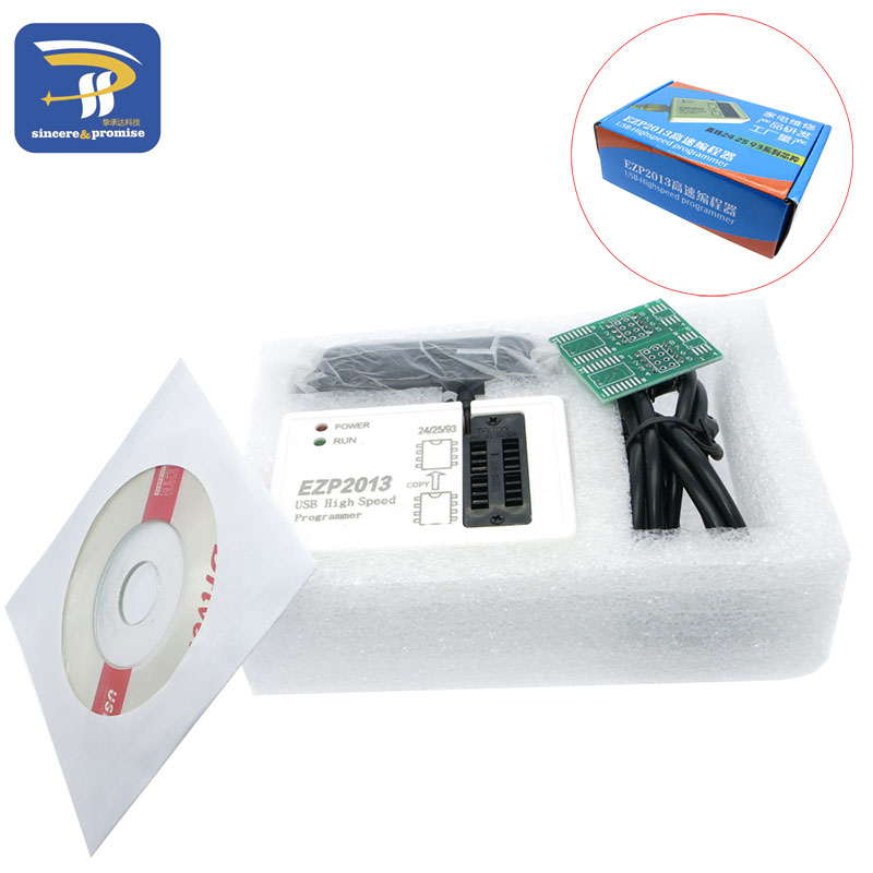 US $12 7 |EZP2013 Update from EZP2010 high speed USB SPI Programmer 24 25  93 EEPROM 25 flash bios chip support WIN7 WIN8-in Integrated Circuits from