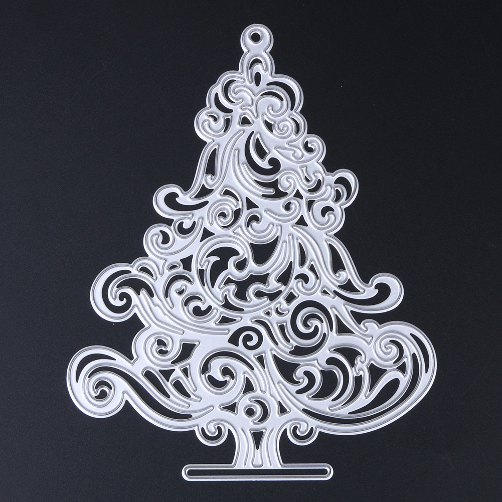 Christmas tree decorations metal cutting dies stencils for