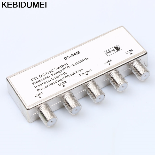 Diseqc Switch Wideband Premium DiSEqC 1.0 Model Satellite lnb Multi ...