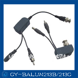 CCTV BNC Audio Video Power Balun UTP twisted pair Power Transceiver,UTP Video Balun with RJ45 UTP Port and Surge Protection 2 in 1 10ka bnc video signal 2pin power surge protection device black silver 12 24 220v
