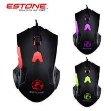 New GT-700 Wired Ergonomic 6-key Led Breathing Light Gaming Mouse Computer Peripheral Mice