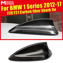 F20 Roof Antenna Shark Fin Cover Decoration Carbon Fiber For F21 Covers 118i 120i 125i 130i 135i 135is 12-17