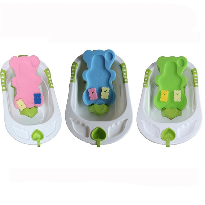 Baby Bath Seat Infant Non Slip Soft Bath Foam Pad Mat Body Cushion ...