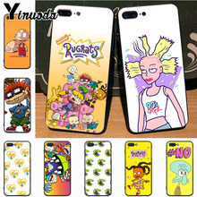 Yinuoda cartoon Rugrats amine lovely black soft tpu Phone Case for Apple iPhone 8 7 6 6S Plus X XS XR MAX 5 5S SE 5C case
