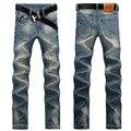 Мужская свободного покроя джинсы мужской мода джинсы джинсовые брюки длинные брюки бесплатная доставка зимние мужские джинсы UK382