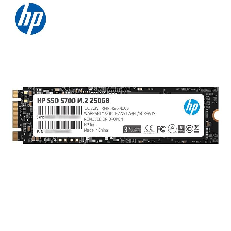 HP m2 PCIe ssd 2280 Sata 250 gb M.2 ssd 120 gb 500G 3D TLC NAND disque ssd interne pour ordinateur portable disque dur interne