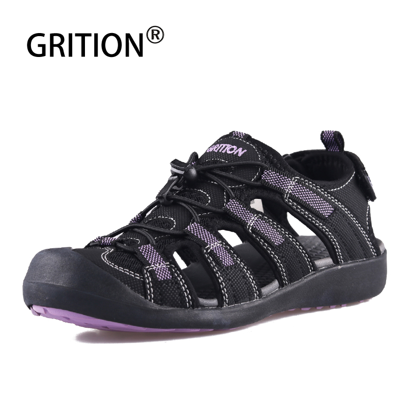 GRITION Sandals Women Sports-Shoes Platform Flat Female Fashion Ladies Beach Water Outdoor