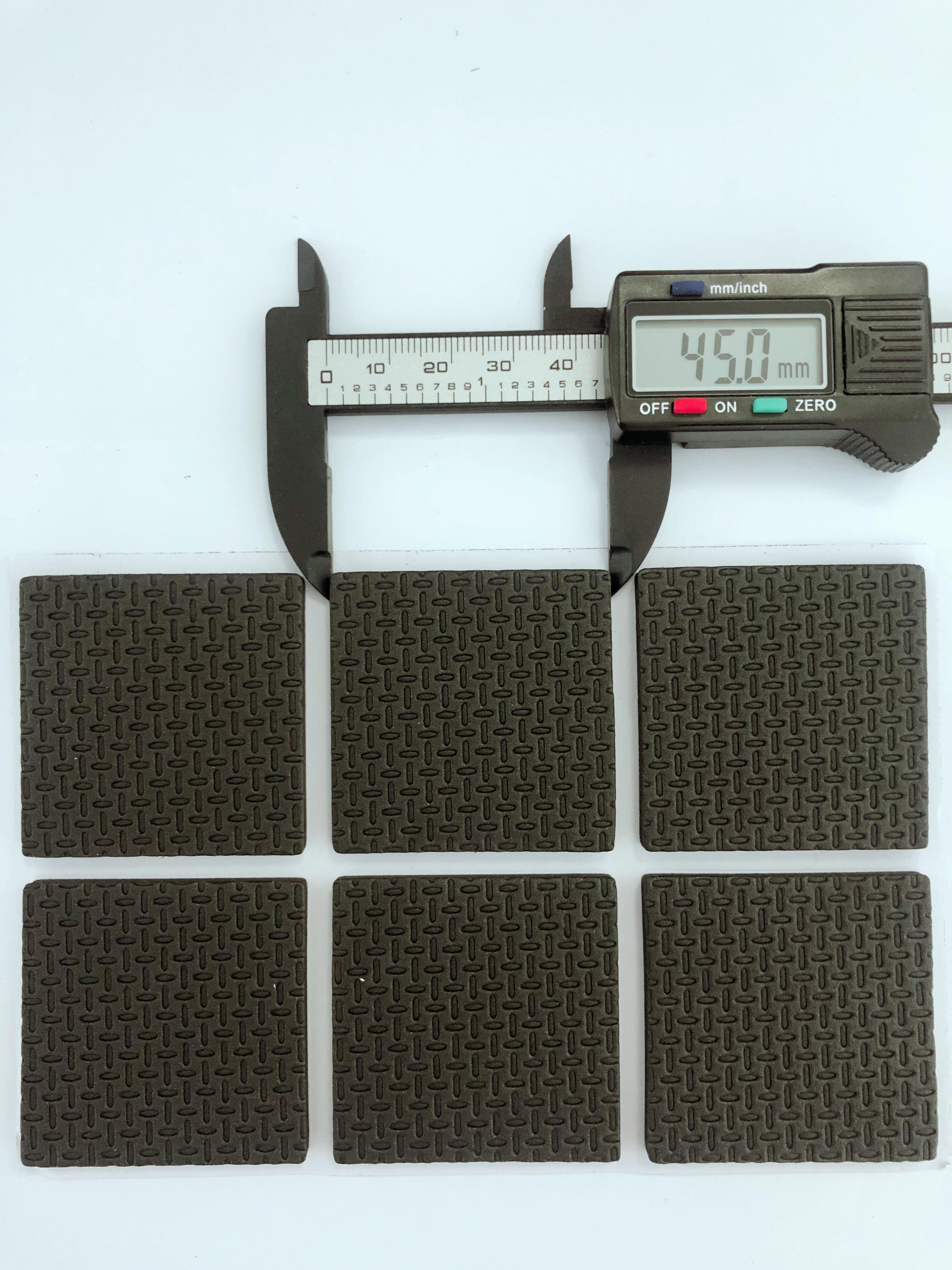 12pcs ST002 Square Self Adhesive Furniture Leg Feet Non Slip Rug Felt Pads Anti Slip Mat Soft Close Protect Tool Parts