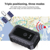 Vehemo Black ABS Auto Mini GPS Tracker Mini GPS Tracker Wifi GPS Mini GPS Tracker Tracking Real Universal Tracker