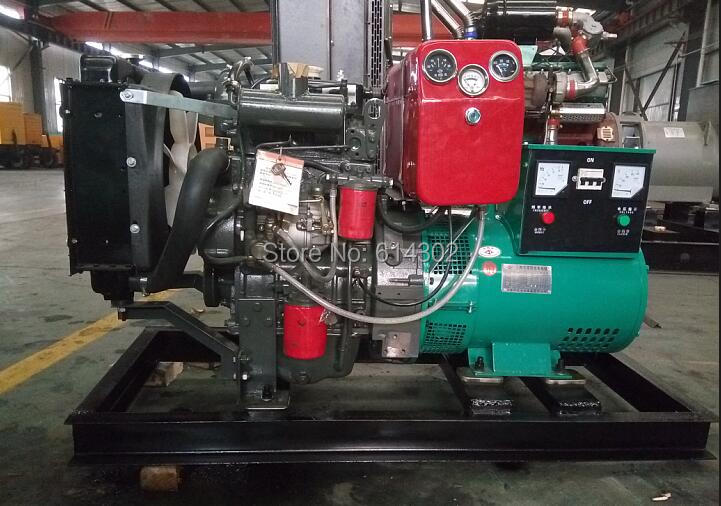 3 phase diesel genset 18.75kva/15kw diesel generator with 2110D diesel engine and brushless alternator akg k701