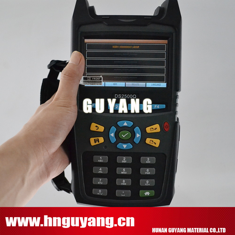 Deviser DS2500Q 1000MHz Digital TV QAM Spectrum analyzer Analog Digital TV analysis DOCSIS 3 0 analysis