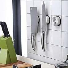 Магнитный держатель кухонного ножа на присоске из нержавеющей