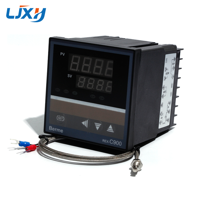 K Type Thermocouple Probe PID Temperature Controller REX-C900 SSR//Relay Output