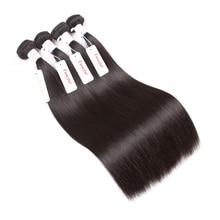 Straight Hair Remy Extensions Brazilian Human Hair Bundles