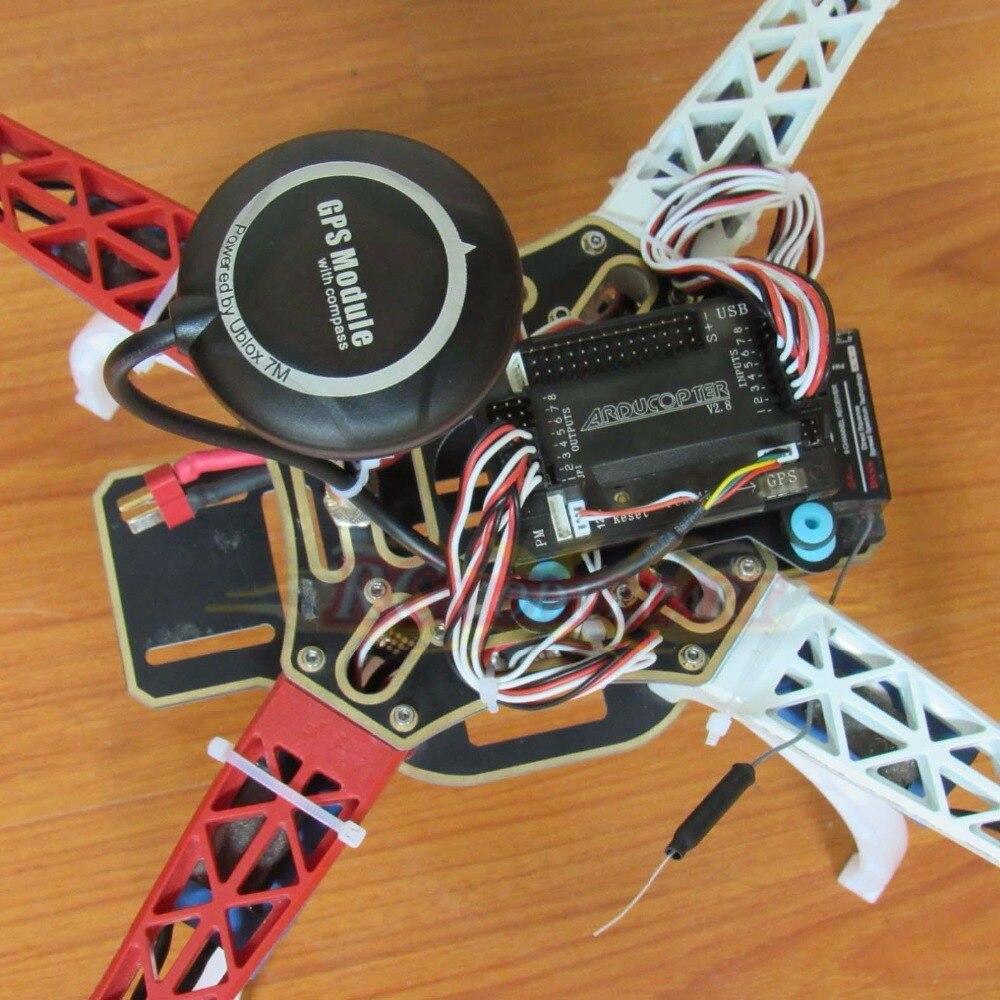 US $119 68 5% OFF|DIY F450 Quadcopter APM2 8 Flight Controller NEO 7M GPS  920KV Brushless Motor Simonk 30A ESC Power Module 1045 propeller-in Parts &
