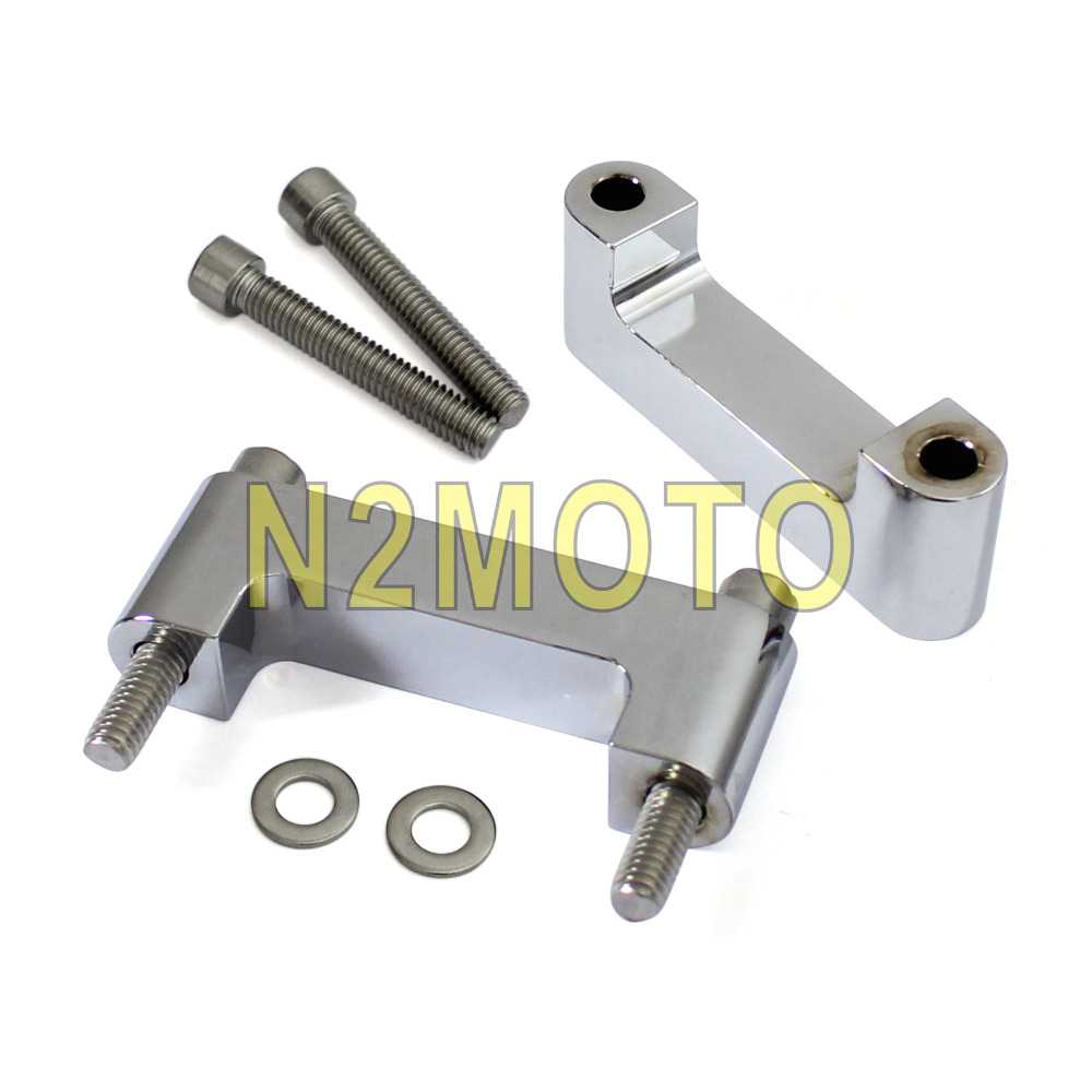Motorcycle Chrome 21 Quot Front Fender Spacer Bracket For