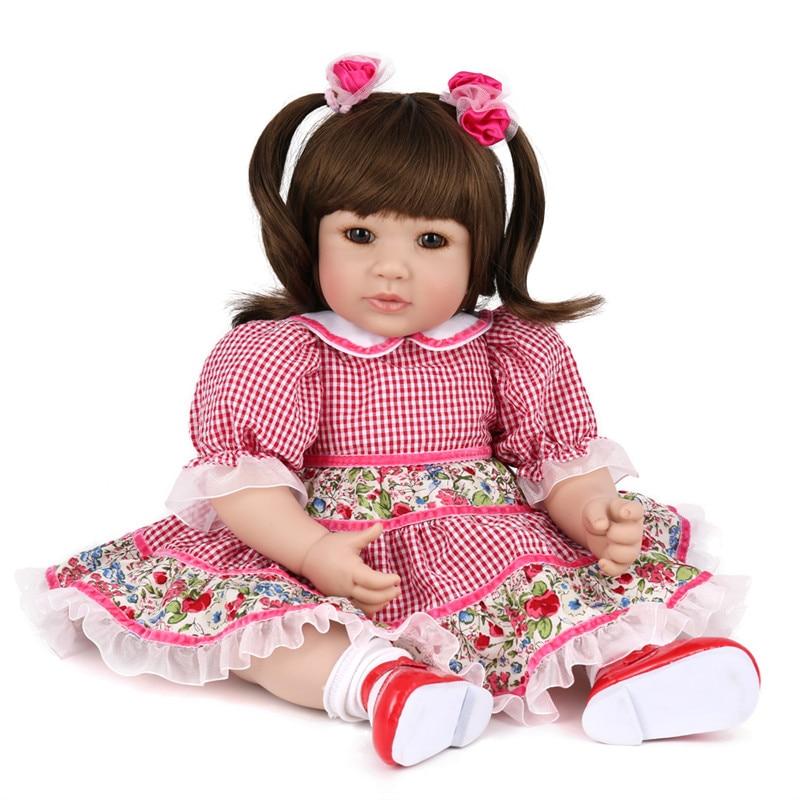 Kaydora Soft Silicone Reborn Baby Doll 50Cm Lifelike Baby Alive Newborn Doll Toys For Children Clothes Body Promotion Price B7