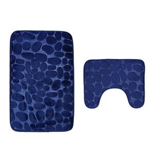 Image 5 - 2 adet kaymaz emme kavrama banyo paspas banyo mutfak halı paspas 3d banyo kilim tapis de bain 3d tapis de bain #40