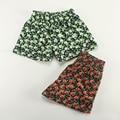 Nuevas mujeres de la moda de algodón cómodo pantalones cortos muchachas ocasionales flojos damas pantalones de pijama en casa desgaste cortocircuitos de la flor envío gratis