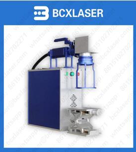 Fiber Laser Marking Machine For Logo Printing On Metal Plastic