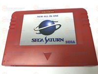 NEW ALL IN 1 Sega Pseudo Saturn Cartriage Action replay Card with Direct reading 4M Accelerator Goldfinger function 8MB memory
